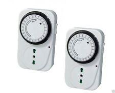 Temporizzatore Presa Elettrica Timer 24 ore Spina Corrente Programmabile 220 V