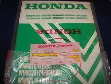 Shop Manual HONDA Stromerzeuger Generator EB/EM/EG 3000X-5000SX neu OVP