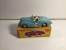 Dinky Toys 107 Sunbeam Alpine Sports Within Its Original Box