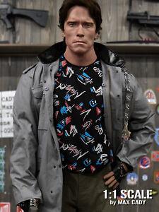 Screen Accurate TERMINATOR Modern Sleeveless Shirt, Arnold Schwarzenegger, T-800