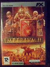 Imperivm II Imperium 2 PC completo Estrategia del Imperio romano en castellano