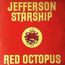 JEFFERSON STARSHIP - Red Octopus (LP) (G+/G++)