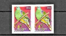 South Africa Birds super imperf pair U/M