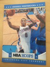 Wow Panini nba Hoops Russell Westbrook de Oklahoma City Thunder MVP 2017 Gem Mint!!!
