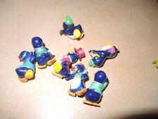 Konvolut 7 x Alte Figur - Üei / Überraschungsei  -- MIX Pinguin 90er Jahre