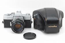 �Exc+】Minolta Srt-101 Slr 35mm Film Camera W/ Mc50mm f/1.7 Lens From Japan