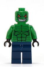 Lego Dc Batman Minifigura Killer Croc 7780 ** ** como Nuevo ** muy Raro 100% Original