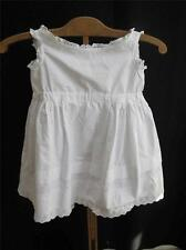 ANTIQUE VICTORIAN BABY'S EMBROIDERED COTTON,  LACE & PINTUCK PETTICOAT c1890
