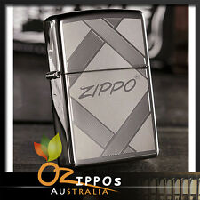 """Zippo """"Unparalleled Tradition"""" Lighter, Black Ice 20969 --- Free Shipping"""