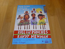 ROLL WITH the PUNCHES  Songs of Randy NEWMAN  Original TRICYCLE Theatre Poster