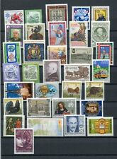 AUSTRIA 1982 MNH COMPLETE YEAR 33 Items