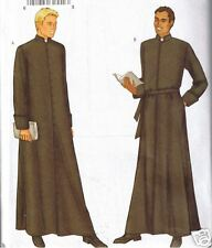 Mens Authentic Church Clergy Vestment Robe Butterick Sewing Pattern 32 34 36