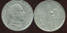 ITALIE  ITALY  2 lire  1924   ( aus )