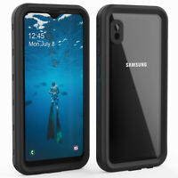 For Samsung Galaxy A10E Waterproof Case with Screen Protector Shockproof Cover