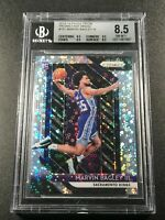 MARVIN BAGLEY 2018 PANINI PRIZM 181 FAST BREAK REFRACTOR RC BGS 8.5 W/2 9.5 SUBS