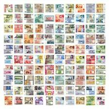 WORLD BANKNOTE SET UNC MIX 44 COUNTRIES 100 DIFFERENT