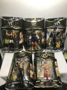 WWE Classic Superstars Figure Lot Of 5  NIP!!!