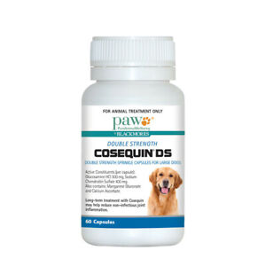 PAW By Blackmores Cosequin DS Double Strength for Large Dogs 60 Capsules
