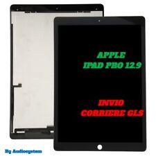 DISPLAY LCD +TOUCH SCREEN PER APPLE IPAD PRO 12.9 NERO A1584 A1652 VETRO NUOVO