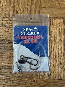 Sea Striker Striped Bass Eel Rig