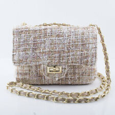 Women Fashion Small Shoulder Bag Lady Chain Crossbody Bag Evening Handbag Winter
