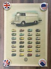 "Poster Plakat ""Bulli Parade"" Auto-Poster - Retro-Style"