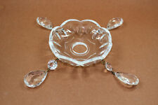 Kristall Glas Behang für Lüster Vollschliff Pendel 76mm  pampille pendaloque