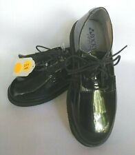 Rocky Black Comfort Mens High Gloss Leather Oxford Sz 5.5M Police Fire Military