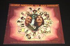 George Harrison Ravi Shankar  1974 World Tour Concert Program
