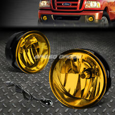 FOR 08-11 FORD RANGER/-17 EXPEDITION AMBER LENS BUMPER FOG LIGHT LAMPS W/SWITCH