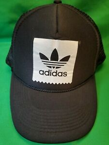 Adidas Black Trucker Snapback Hat