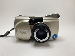 Olympus Stylus Epic Zoom 115 Deluxe 35mm Film All Weather Camera Tested Works
