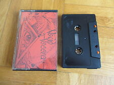 VISCID VISCERAl  Age Of Anxiety RARE 1985 DEMO Cassette Tape Heavy Metal