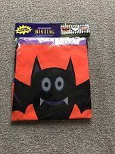 """Halloween Espeluznante Fantasma Murciélago gigante y diseños de banderines de calabaza 3 pedazos de 36"""" largo"""