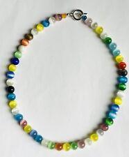 Beautiful Cats Eye Glass Necklace Version 1