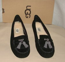 AUTHENTIC UGG AUSTRALIA LIZZY Slippers  womens 8  NIB  Black