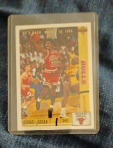 Michael Jordan Chicago Bulls 1991 Upper Deck Card NM #44