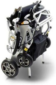 Pride Igo Fold Automatic Lightweight Folding Wheelchair Via Remote Fob / Sliver
