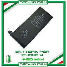 BATTERIA ORIGINALE IPHONE 4 1420 mAh ZERO CICLI
