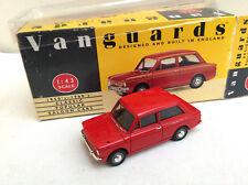 VANGUARDS 1/43 VA26000 Hillman Imp  -  red     BOXED