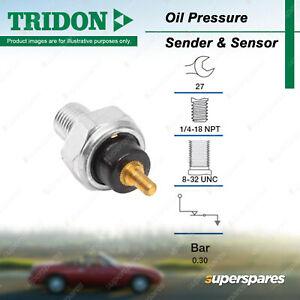 Tridon Oil Pressure Light Switch for Ford Spectron Taurus DN Transit VF VG VH VJ