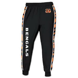 Cincinnati Bengals Casual Joggers Pants Sweatpants Gym Sports Workout Trousers