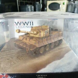 Corgi WWll Legends Tiger 1 Tank CC60502 101 ST SS sPzABT  1:50