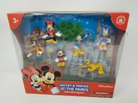 Disney Mickey & Friends at the Parks Figure Set - Mickey, Minnie, Goofy & More