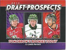 2012-13 2013 ITG Draft Prospects Hockey Sealed Hobby Box - McDavid - Drouin & ++