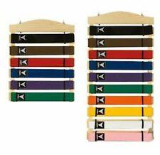 Martial Arts Belt Display Wall Rack Holder for Karate Tae Kwon Do Belts