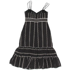 SHOSHANNA Black Dress Gothic Lolita Prarie size 2 - $340
