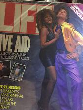 LIFE MAGAZINE----SEPTEMBER 1985 ISSUE  (MICK JAGGER & TINA TURNER COVER)