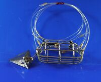 NEW VERSION  QUALITY HAND  CRAFTED  CRAB SNARE- 4oz  PYRAMID WEIGHT INCLUDED.