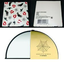 Mac Cosmetics Charlotte Olympia Compact Slide Mirror very Rare New In Box Nib